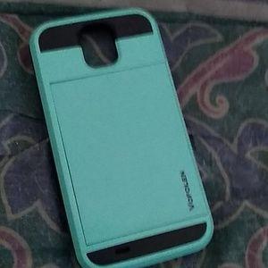 Samsung case teal/black